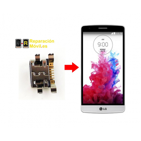 Cambiar Conector De Carga LG G3 mini