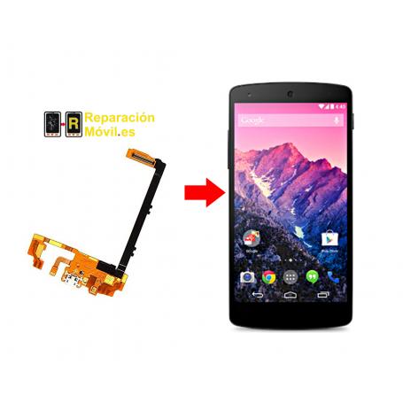 Cambiar Conector De Carga LG NEXUS 5