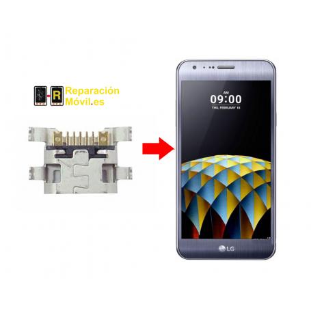 Cambiar Conector De Carga LG X Cam
