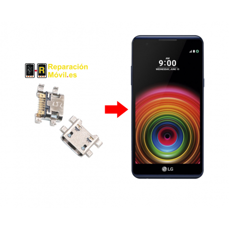 Cambiar Conector De Carga LG X power