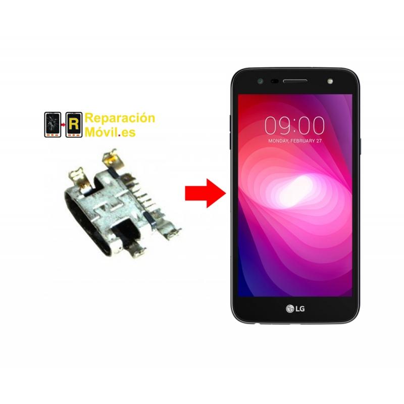 Cambiar Conector De Carga LG X power 2