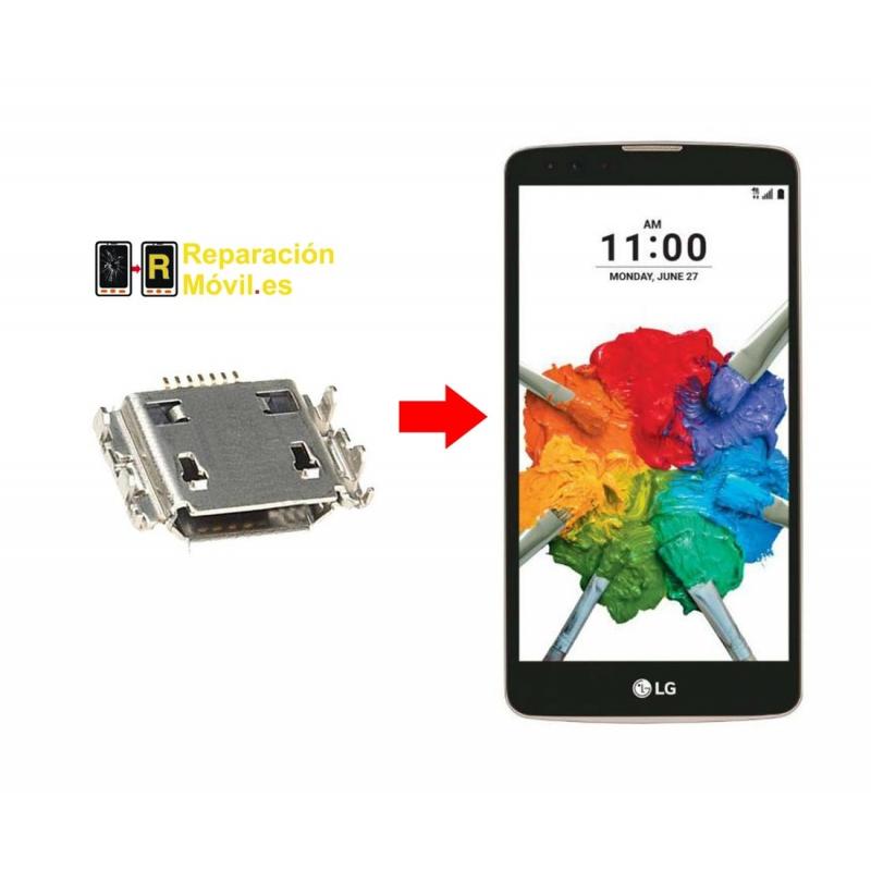 Cambiar Conector De Carga LG stylus 2 Plus
