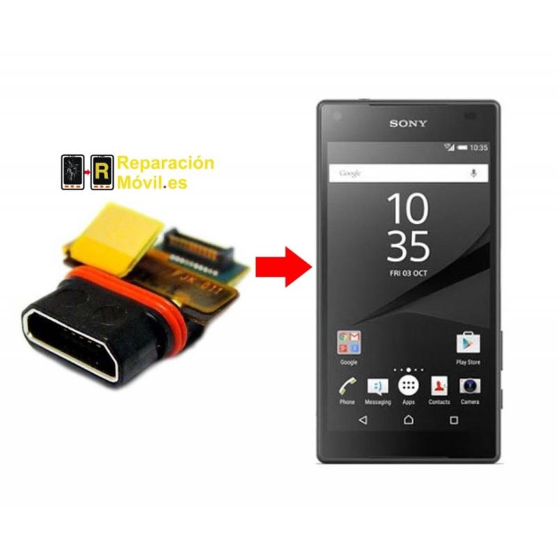 Cambiar Conector De Carga Sony Z5 mini