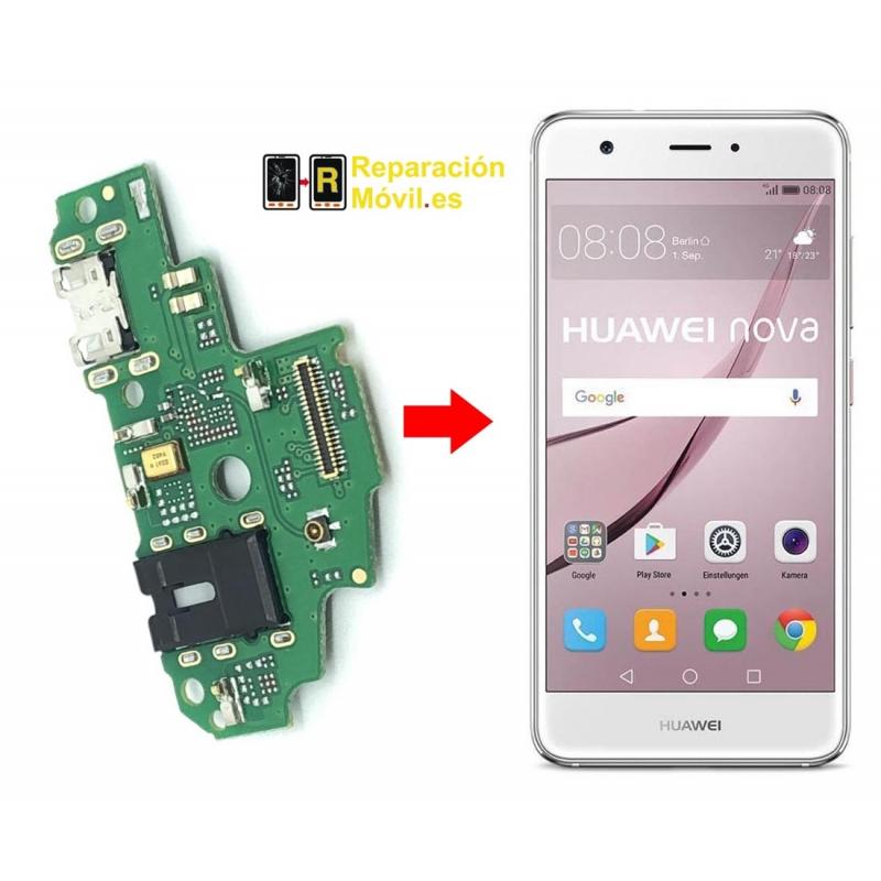 Cambiar Conector de Carga Huawei Nova Smart