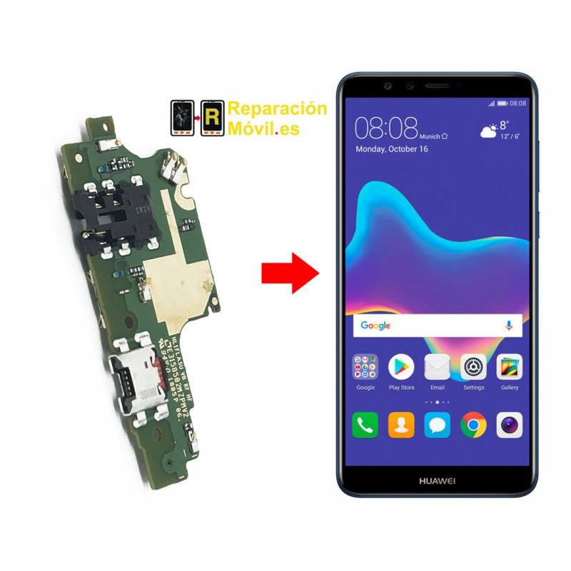 Cambiar Conector de Carga Huawei Y9 2018