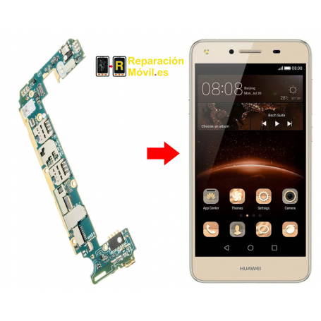 Cambiar Conector De Carga Huawei Y5 II