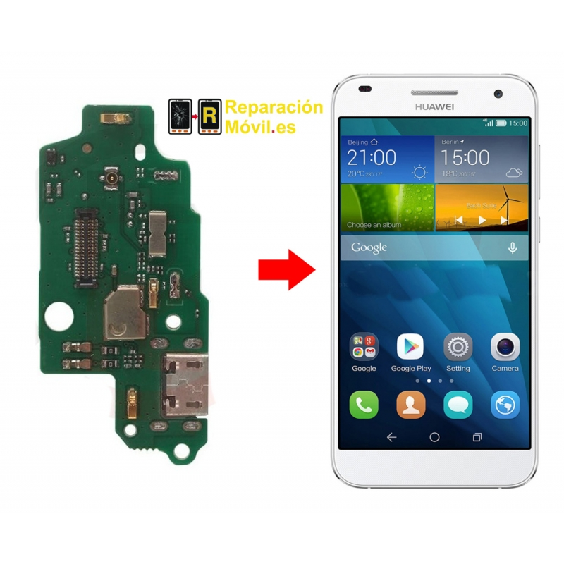 Cambiar Conector de Carga Huawei G7