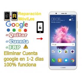 Eliminar Cuenta Google FRP Huawei P Smart
