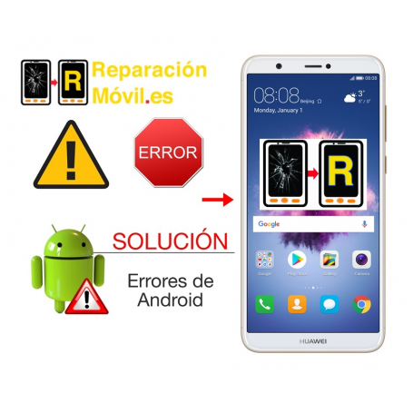 Solución Error De Sistema Huawei P Smart