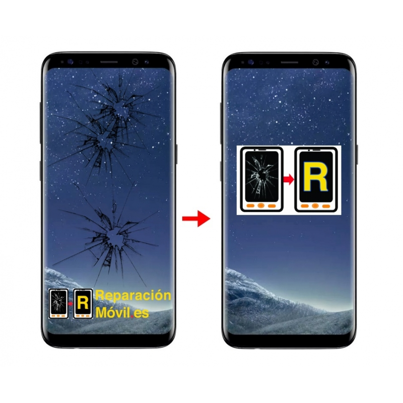 Cambiar Cristal Samsung S8
