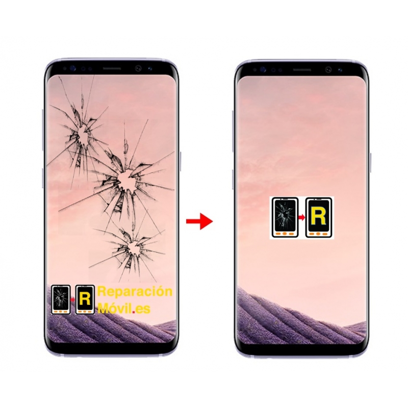 Cambiar Cristal Samsung S8 Plus