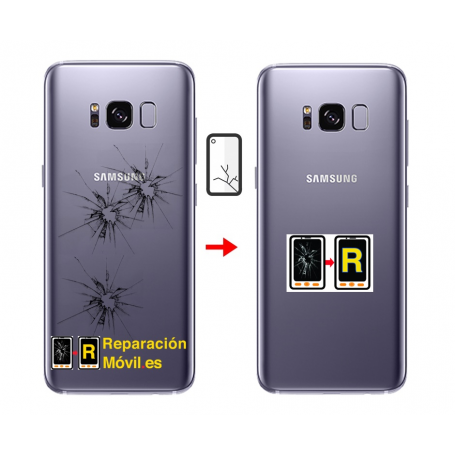 Cambiar Tapa Samsung s8 plus
