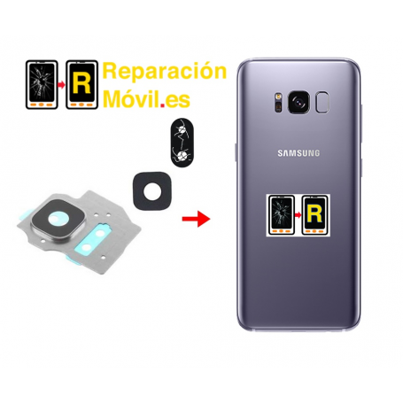 Cambiar Cristal De Cámara Trasera Samsung S8 Plus