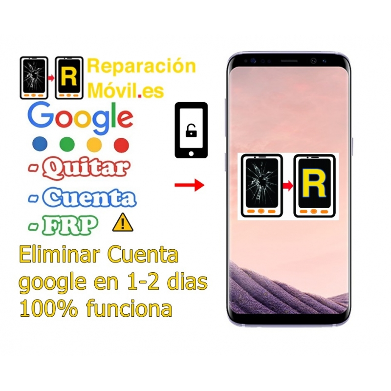 Eliminar Cuenta Google Frp Samsung S8 Plus