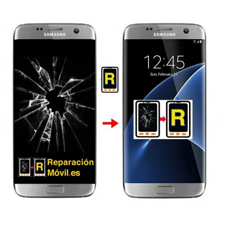 Cambiar pantalla Samsung S7 Edge