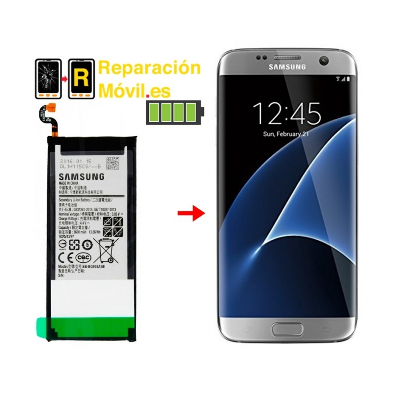 Cambiar Batería Original Samsung S7 Edge
