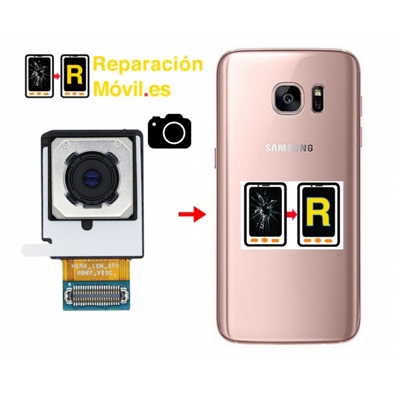 Cambiar Cámara Trasera Samsung S7 Edge