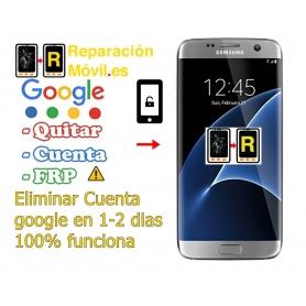 Eliminar Cuenta Google Samsung S7 Edge