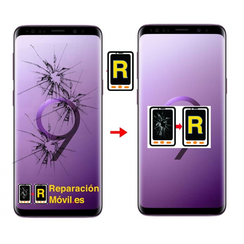 Cambiar Cristal Samsung S9