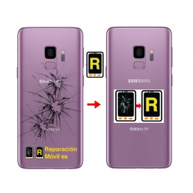 Cambiar Tapa compatible Samsung S9
