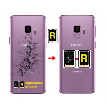 Cambiar Tapa Samsung S9