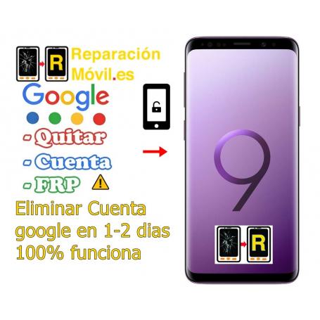 Eliminar Cuenta Google Frp Samsung S9