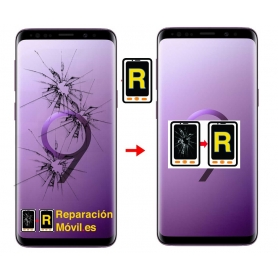 Cambiar Cristal de Pantalla Samsung S9 Plus