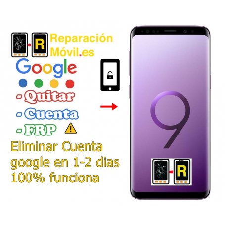 Eliminar Cuenta De Google Frp Samsung S9 Plus