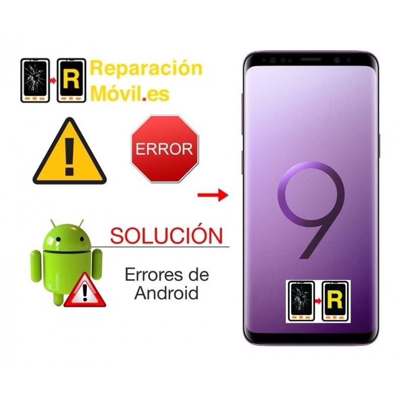 Solución De Sistema Samsung S9 Plus