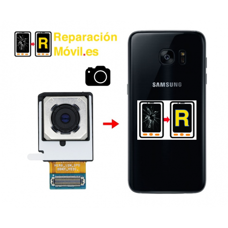 Cambiar Cámara Trasera Samsung s7