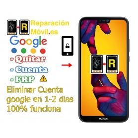 Eliminar Cuenta Google Frp Huawei P20