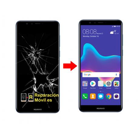 Cambiar Pantalla Huawei Y9 2018