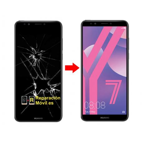 Cambiar Pantalla Huawei Y7 2018