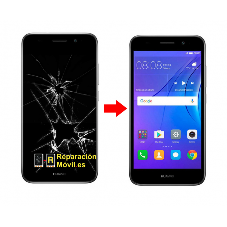 Cambiar Pantalla Huawei Y3 2017