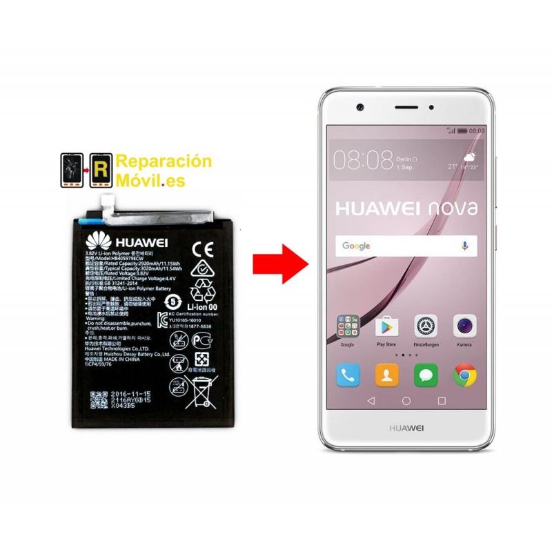 Cambiar Batería Huawei Nova Smart
