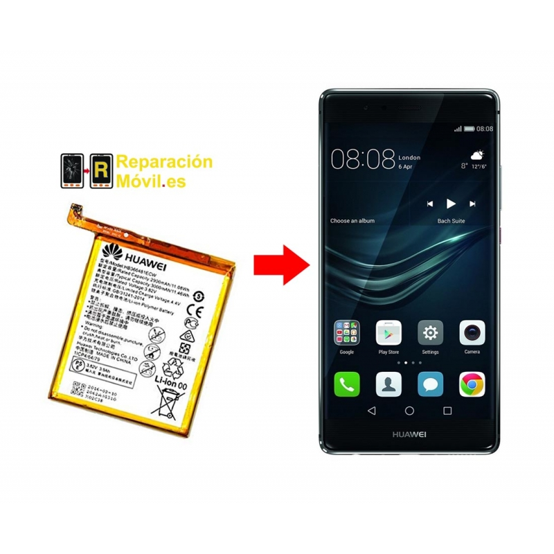 Cambiar Batería Huawei P9