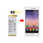 Cambiar Batería Huawei P7