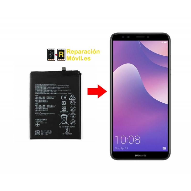 Cambiar Batería Huawei Y7 Prime