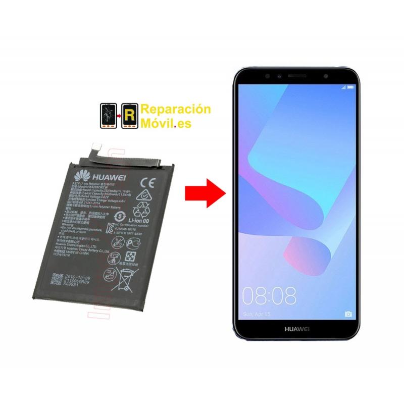 Cambiar Bateria Huawei Y6 Pro 2017