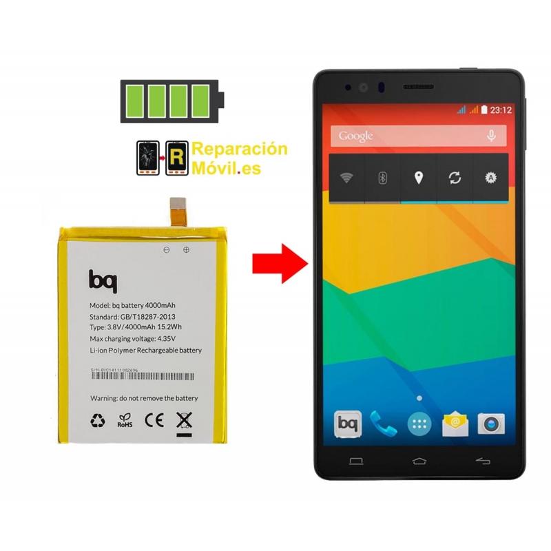 Cambiar Batería BQ E6