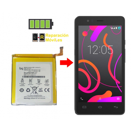 Cambiar Batería BQ E5s