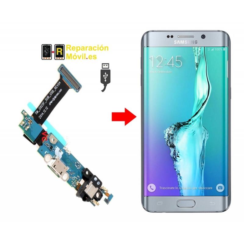 Cambiar Conector de Carga Samsung S6 EDGE