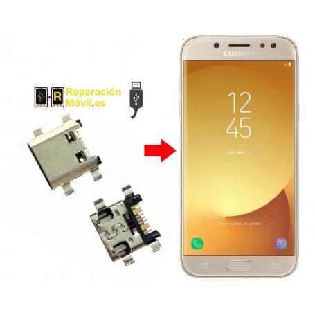 Cambiar conector de carga samsung j5 2016(J510F)