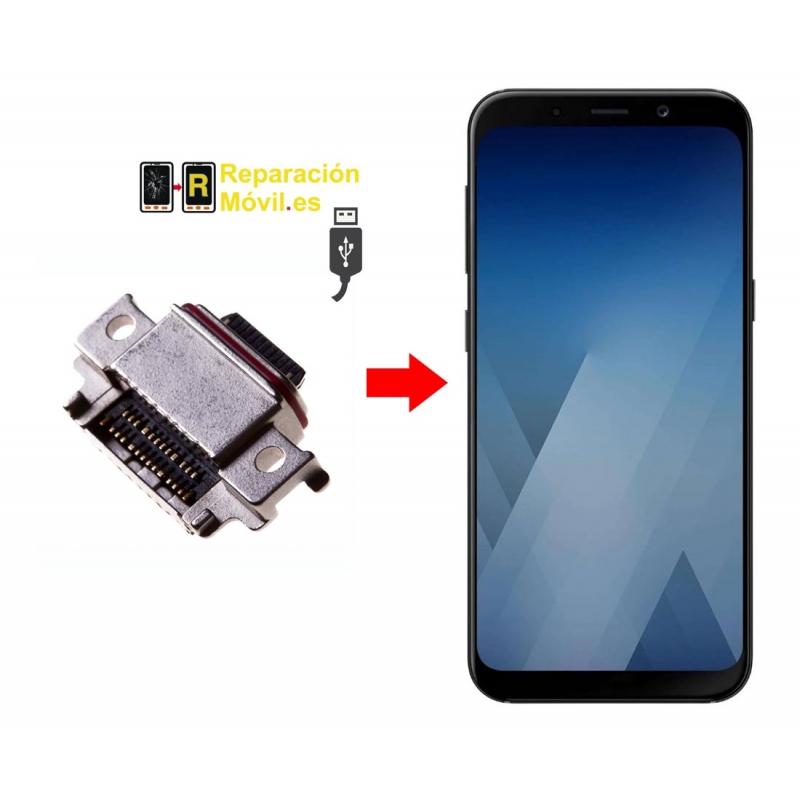 Cambiar Conector De Carga Samsung A8 2018