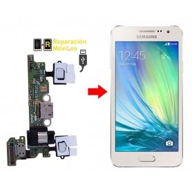 Reparar conector de carga Samsung A3 (A300F)