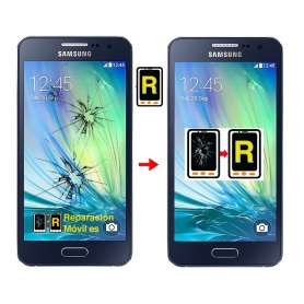 Cambiar Cristal Samsung A3