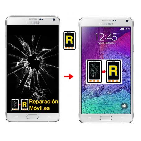 Cambiar Pantalla Original Samsung Note 4