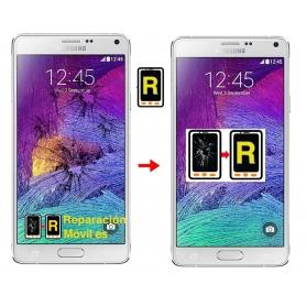 Cambiar Cristal De Pantalla Samsung Note 4