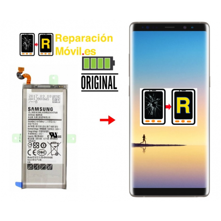 Cambiar Batería Original Samsung Note 8