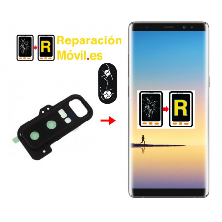 Cambiar Cristal De Cámara Samsung Note 8